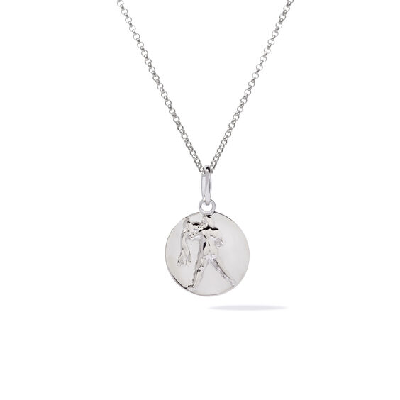 Mythology 18ct White Gold Aquarius Necklace | Annoushka jewelley
