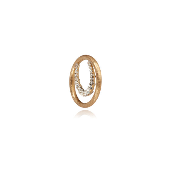 18ct Gold Diamond Horseshoe Hoopla | Annoushka jewelley