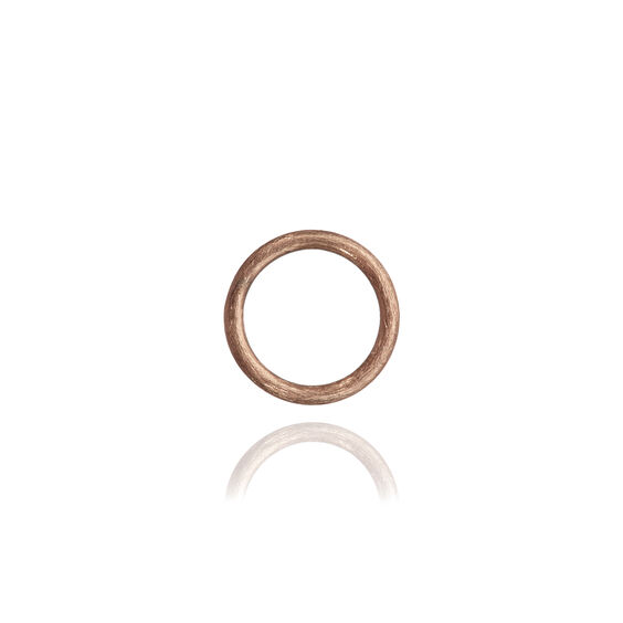 18ct Rose Gold Small Hoopla Hoop