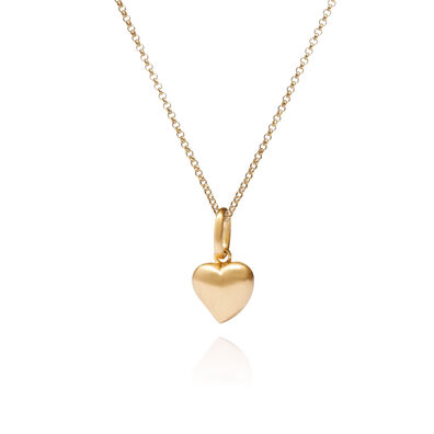 Mythology 18ct Gold Heart Necklace