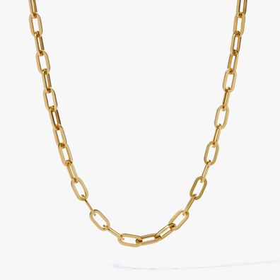 18ct Gold Cable Chain