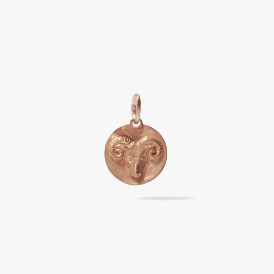 Mythology 18ct Rose Gold Aries Pendant | Annoushka jewelley