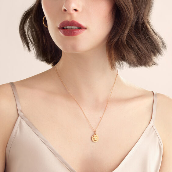 Mythology 18ct Rose Gold Taurus Necklace | Annoushka jewelley