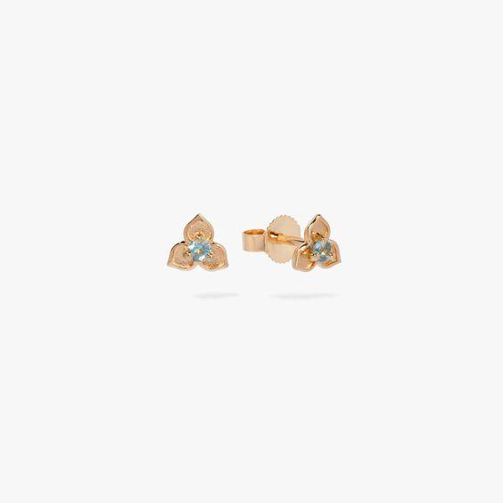 Tokens 14ct Gold Aquamarine Studs | Annoushka jewelley