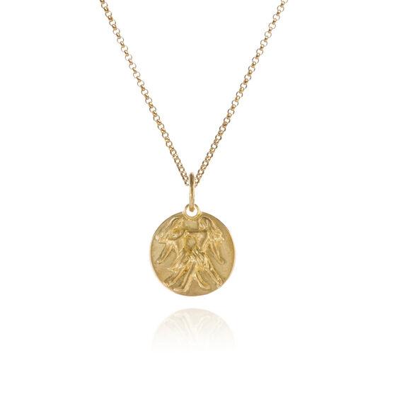 Mythology 18ct Gold Gemini Necklace