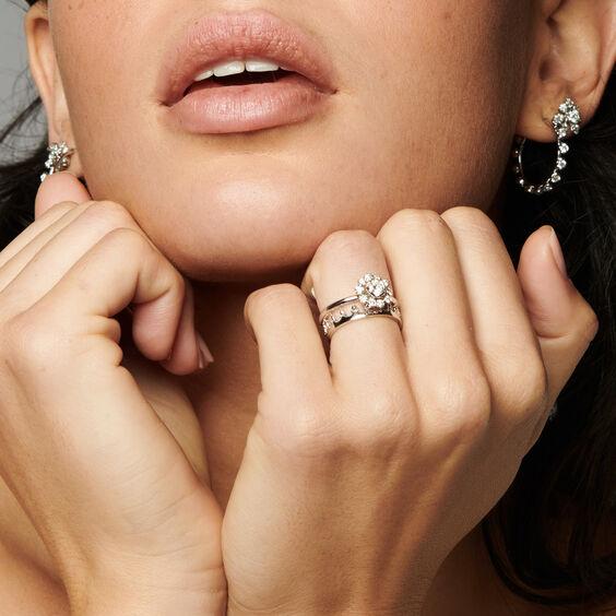 Marguerite 18ct White Gold 0.25ct Diamond Ring | Annoushka jewelley