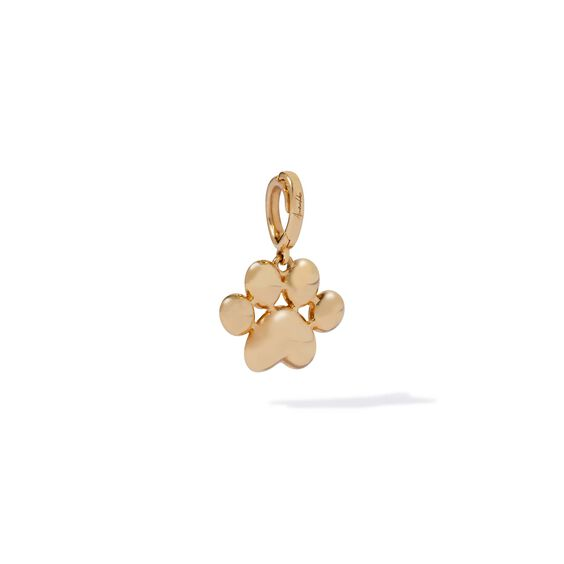 18ct Gold Paw Print Charm | Annoushka jewelley