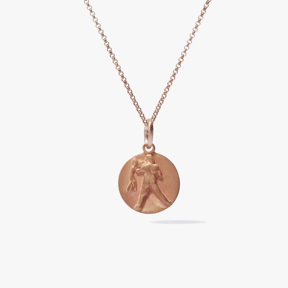 Mythology 18ct Rose Gold Aquarius Necklace | Annoushka jewelley