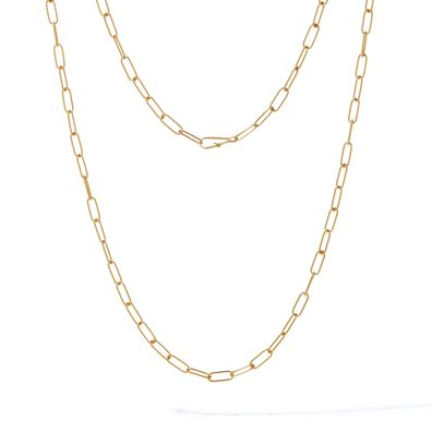 14ct Gold Mini Short Cable Chain