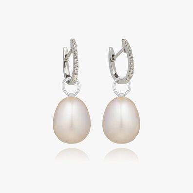 18ct White Gold Annoushka Favourites Pearl Earrings