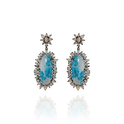 Sutra Paraiba Tourmaline Earrings