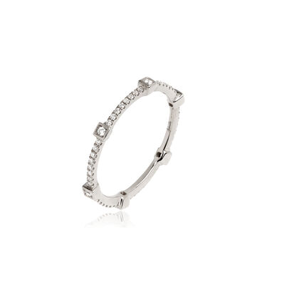 Pavilion 18ct White Gold Diamond Eternity Ring