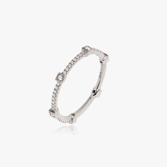 Pavilion 18ct White Gold Diamond Eternity Ring | Annoushka jewelley