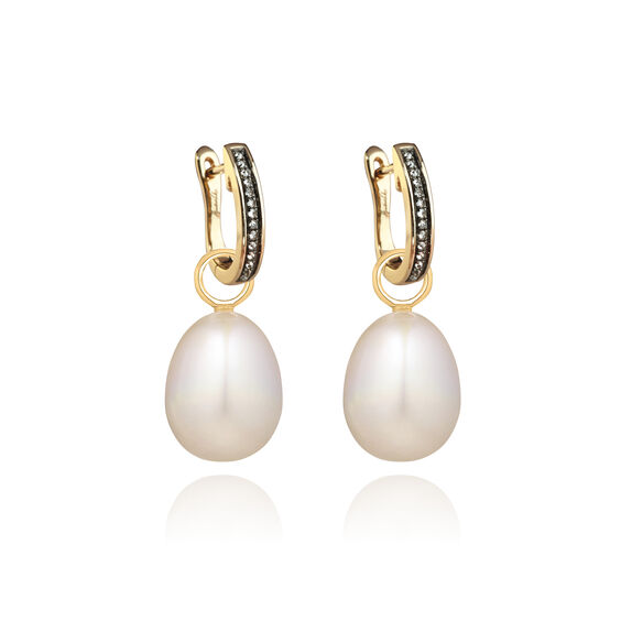 18ct Gold Annoushka Favourites Pearl Earrings | Annoushka jewelley
