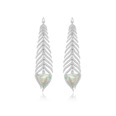 Sutra Opal Earrings