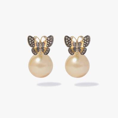 Vampire Butterfly Earrings