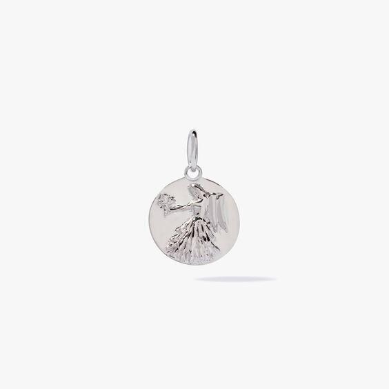 Mythology 18ct White Gold Virgo Pendant | Annoushka jewelley