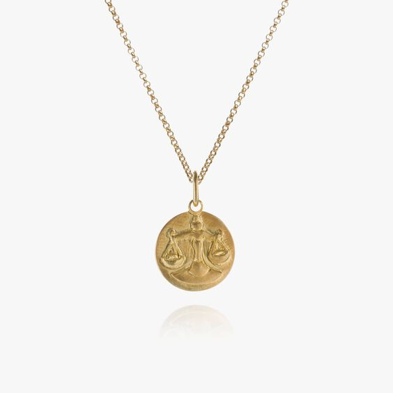Mythology 18ct Gold Libra Necklace