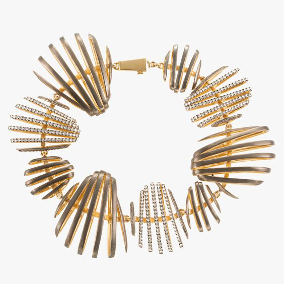 Garden Party 18ct Gold Diamond Bracelet | Annoushka jewelley