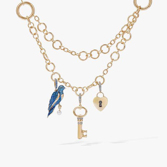 Mythology 18ct Gold Three Wishes Necklace