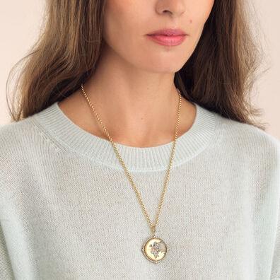 Mythology 18ct Gold Diamond Globe Necklace