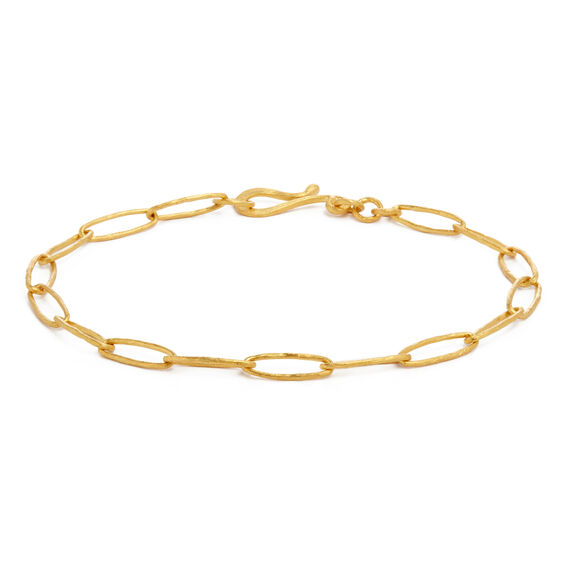 18ct Gold Organza Charm Bracelet | Annoushka jewelley