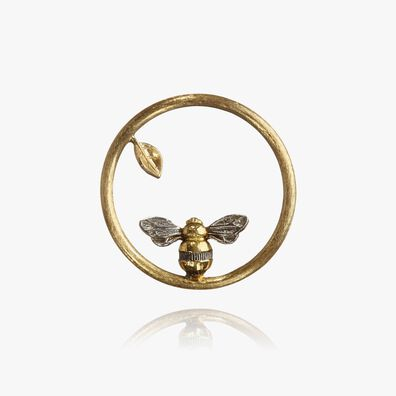 18ct Gold Bee Hoopla