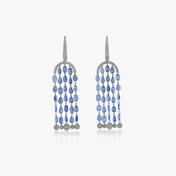 Sutra Sapphire Chandelier Earrings | Annoushka jewelley