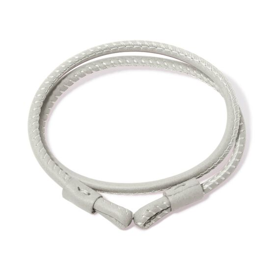 41cms Cream Leather Bracelet | Annoushka jewelley