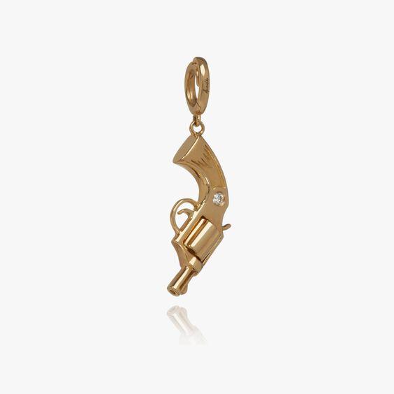 "18ct Gold Diamond ""Deanna"" Charm | Annoushka jewelley"