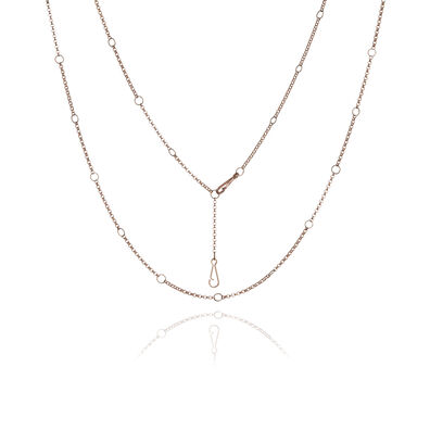 Hoopla 18ct Rose Gold Short Chain