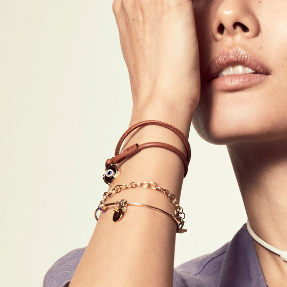 18ct Gold & Diamond Charm Bracelet | Annoushka jewelley