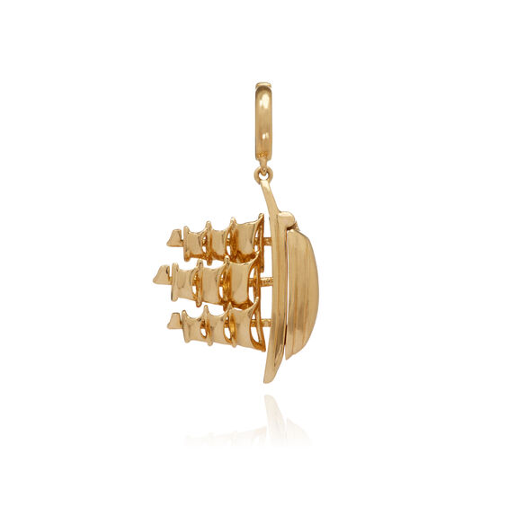 18ct Gold 'The Ship Song' Charm | Annoushka jewelley