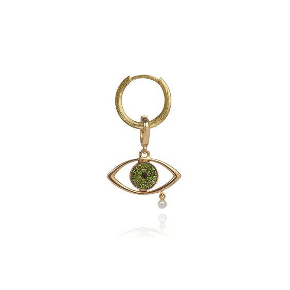 "18ct Gold Diamond ""The Weeping Song"" Charm"