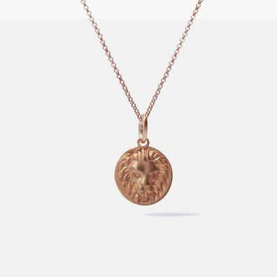 Mythology 18ct Rose Gold Leo Necklace