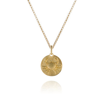 Mythology 18ct Gold Cancer Necklace