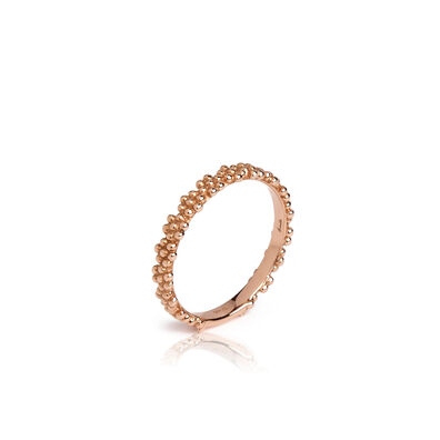 Alchemy 18ct Rose Gold Daisy Ring