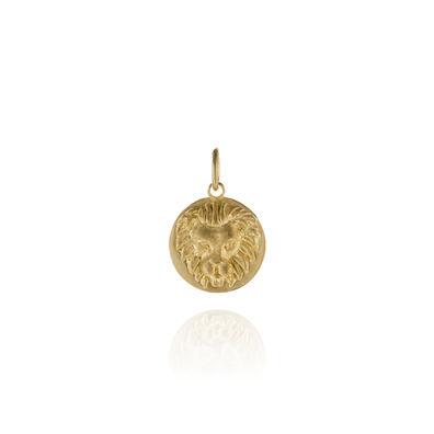 Mythology 18ct Gold Leo Pendant