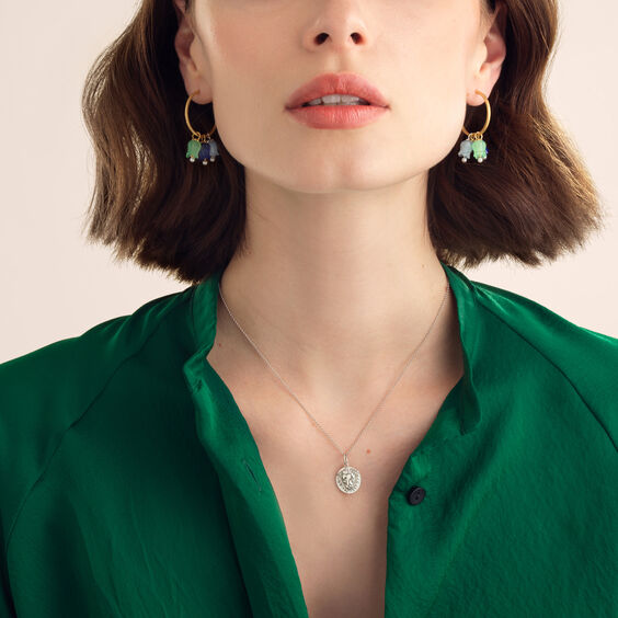 18ct Gold Mixed Tulip Earrings | Annoushka jewelley
