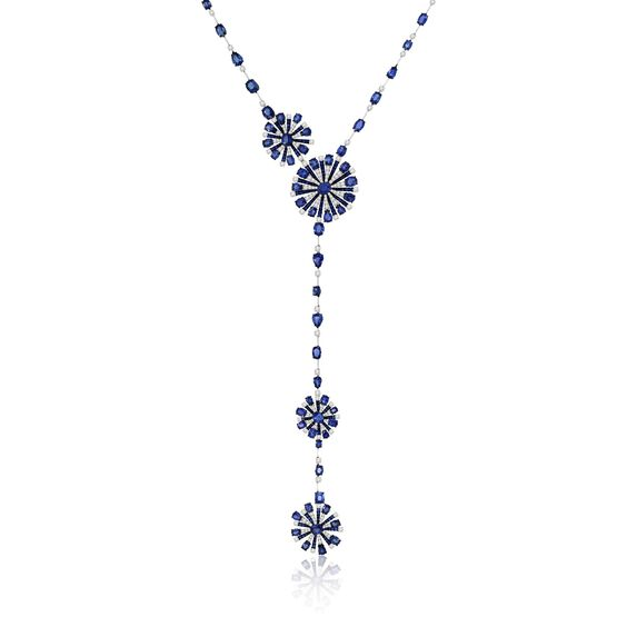 Sutra Sapphire & Diamond Necklace | Annoushka jewelley