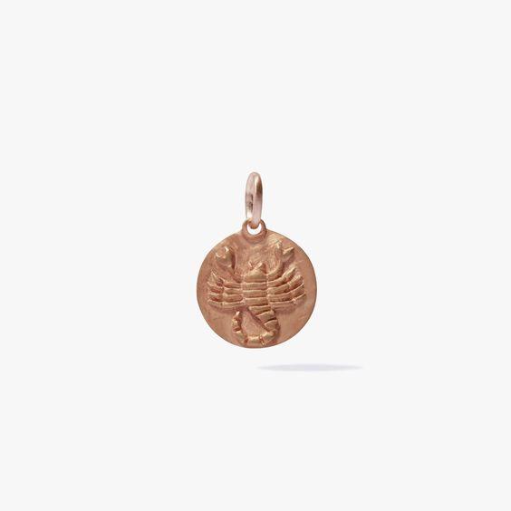 Mythology 18ct Rose Gold Scorpio Pendant | Annoushka jewelley
