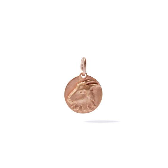 Mythology 18ct Rose Gold Capricorn Pendant | Annoushka jewelley