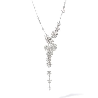 Marguerite 18ct White Gold Diamond Cocktail Necklace