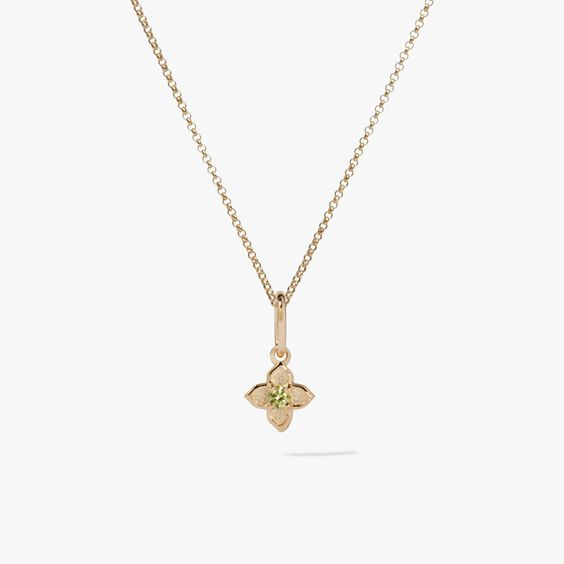 Tokens 14ct Gold Peridot Necklace | Annoushka jewelley