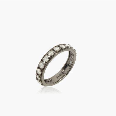 Dusty Diamonds 18ct White Gold Icy Diamond Eternity Ring