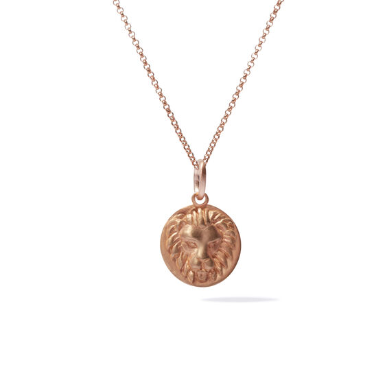 Mythology 18ct Rose Gold Leo Necklace | Annoushka jewelley