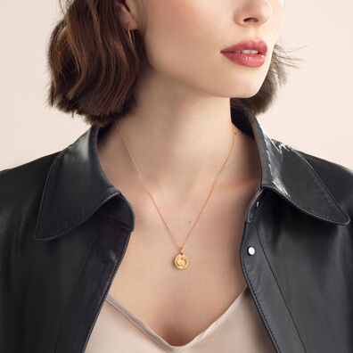 Mythology 18ct Rose Gold Pisces Necklace