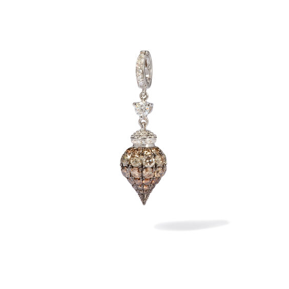Touch Wood 18ct White Gold Diamond Charm