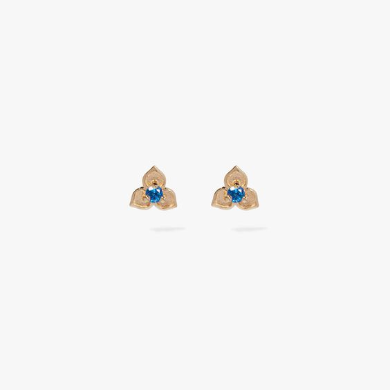 Tokens 14ct Gold Sapphire Studs   Annoushka jewelley