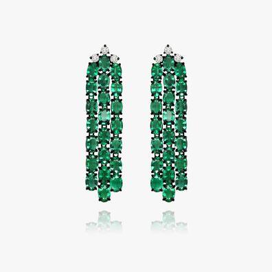 Sutra Emerald Earrings
